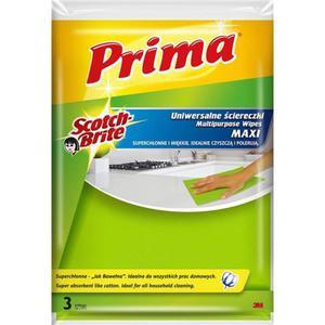 Ścierka PRIMA jak bawełna op.3 żółte - 2847292288