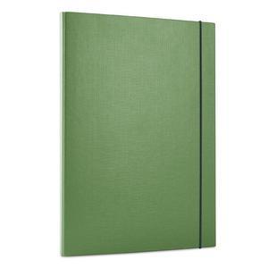 Teczka szeroka DONAU 15mm gumka 2073 - zielona - 2825401727