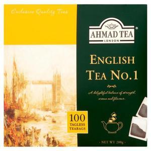 Herbata eksp. AHMAD TEA English No.1 b/szn op.100 - 2847292474