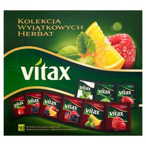 Herbata eksp. VITAX kolekcja herbat op.90szt. - 2847292981
