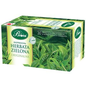 Herbata eksp. BIFIX - zielona oryginalna op.20 - 2847292987
