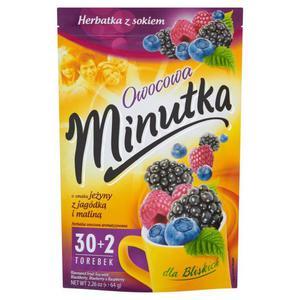 Herbata eksp. MINUTKA owocowa owoce leśne op.30 - 2847293005