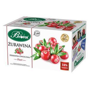 Herbata eksp. BIFIX - Classic żurawina op.25 - 2847293068