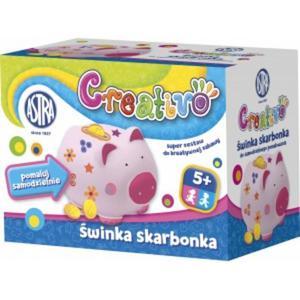 Skarbonka ASTRA Creativo - świnka - 2847293535