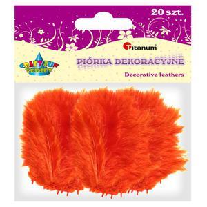 Piórka TITANUM op.20 - pomarańczowe 283017 - 2847293817
