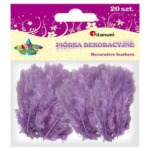 Piórka TITANUM op.20 - liliowe 283023 - 2847293820