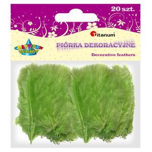 Piórka TITANUM op.20 - j.zielone 283025 - 2847293822