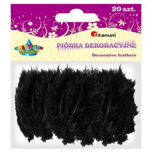 Piórka TITANUM op.20 - czarne 283026 - 2847293823