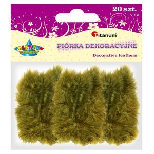 Piórka TITANUM op.20 - oliwkowe 283039 - 2847293826