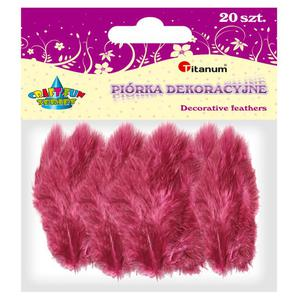 Piórka TITANUM op.20 - c.czerwone 283047 - 2847293828