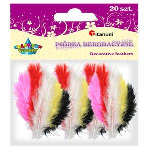 Piórka TITANUM op.20 - mix 5 kolorów 283048 - 2847293829