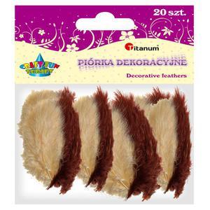 Piórka TITANUM op.20 - mix 2 kolory 283049 - 2847293830