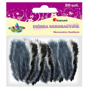 Piórka TITANUM op.20 - mix 3 kolory 283051 - 2847293832