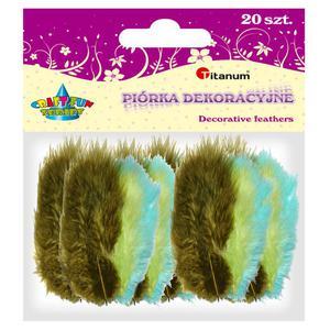 Piórka TITANUM op.20 - mix 3 kolory 283053 - 2847293834