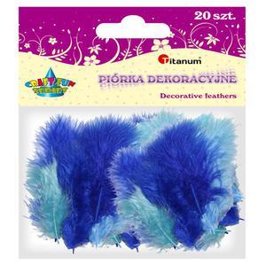 Piórka TITANUM op.20 - mix 3 kolory 283054 - 2847293835