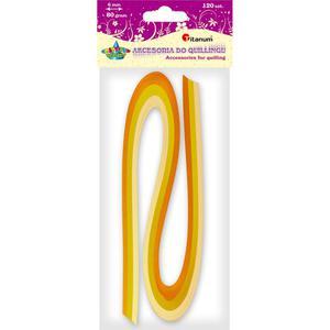 Paski Qulling TITANUM 6mm - żółty 10 307815 - 2847294061
