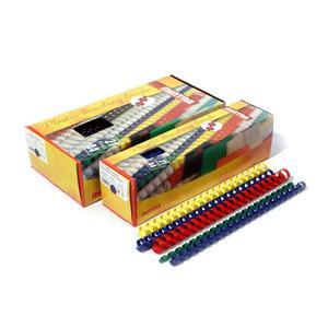 Grzbiety do bindowania 5mm - niebieskie op.100 - 2847294419