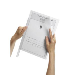 Okładki DURABLE do grzbietów zacisk. - bezbarwne - 2847294499