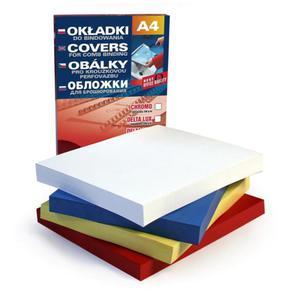 Okładki do bindowania ARGO Delta A4 - żółte - 2847294502