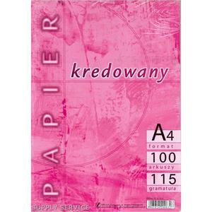 Papier kredowy KRESKA A3 115g. - 2847294618