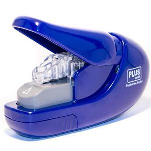 Zszywacz PLUS bez zszywkowy SL106-AB 6k. - nieb. - 2847294809