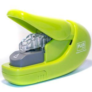 Zszywacz PLUS bez zszywkowy SL106-AB 6k. - zielony - 2847294810