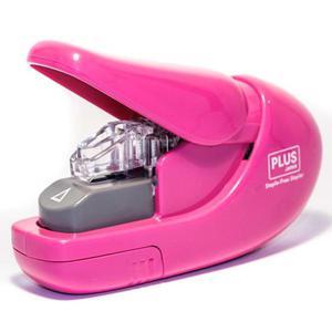 Zszywacz PLUS bez zszywkowy SL106-AB 6k. - różowy - 2847294811