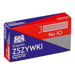Zszywki GRAND No.10 OPAKOWANIE 10 x op.1000 - 2847295064