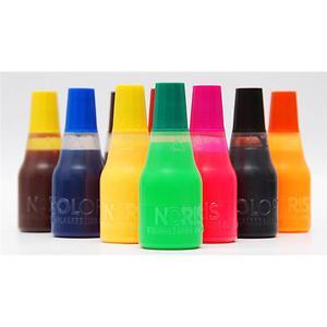 Tusz do stempli NORIS UV 117 Fluo - pomarańczowy - 2847295296