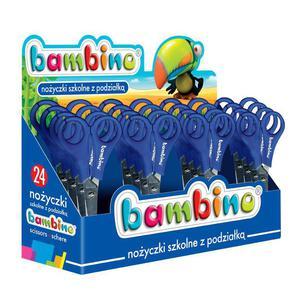 Nożyczki BAMBINO dla dzieci 13,5cm mix kolorów - 2847295326