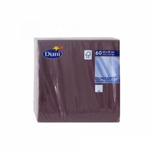 Serwetki DUNI 40x40cm op.125 - bordowe - 2847295550