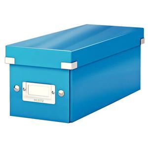 Pudło uniwer. LEITZ Click 6041 małe - niebieskie - 2847295676