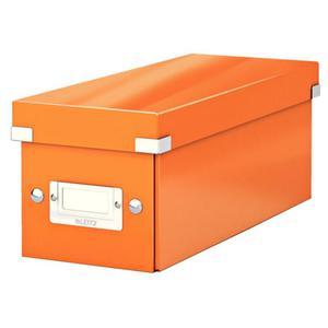 Pudło uniwer. LEITZ Click 6041 małe - pomarańczowe - 2847295679