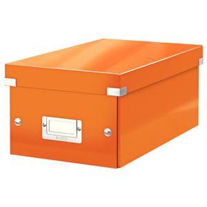 Pudło uniwer. LEITZ Click CD/DVD 6042 - pomarańcz. - 2847295711