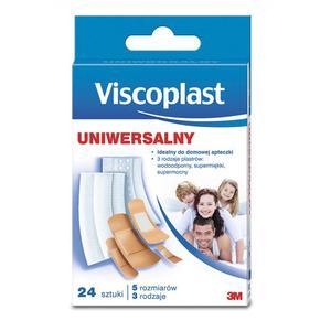 Zestaw plastrów VISCOPLAST mix op.24 - 2847295800
