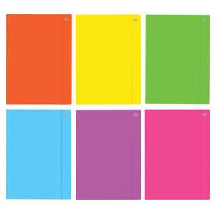 Teczka z gumką A3 INTERDRUK - fluo mix kolorów - 2847295940