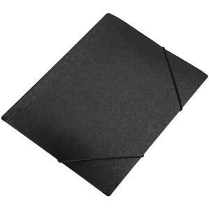 Teczka z gumką A5 PANTA PLAST simple - czarna - 2847295989