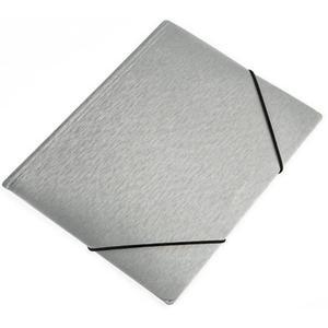 Teczka z gumką A5 PANTA PLAST simple - srebrna - 2847295991
