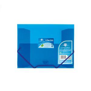 Teczka z gumką A4 PUKKA PAD - niebieska 6190-PFL - 2847296025