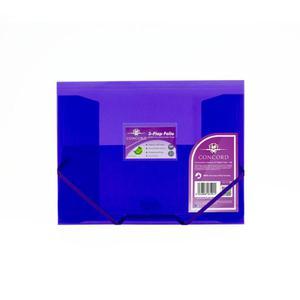 Teczka z gumką A4 PUKKA PAD - fioletowa 6191-PFL - 2847296026