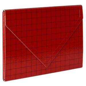 Teczka kopertowa VAUPE 2 A4 316 - czerwona - 2847296086