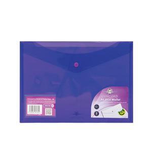 Teczka na zatrzask PUKKA PAD A4 - fiolet 6135-PFL - 2847296104