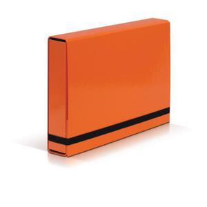 Teczka szeroka VAUPE BOX 341 5cm z gumką - pomara. - 2847296133