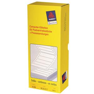 Etykiety AVERY ZWECKFORM skład. 88,9x35,7 3615 - 2847296516