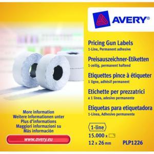 Metki cenowe AVERY ZWECKFORM 12x26 - białe - 2847296581