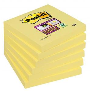 Karteczki POST-IT Super 76x76 654-12SSCY-EU - 2847297581