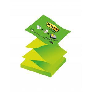 Karteczki POST-IT 76x76 Z-Notes R330NAG - zielony - 2847297598