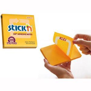 Karteczki samop. STICK'N 76x76 360st. - c.żółty - 2847297718
