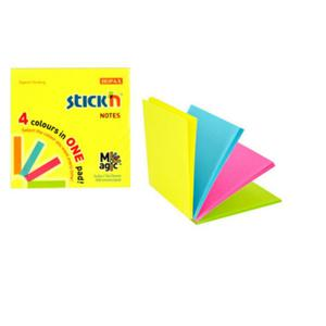 Karteczki samop. STICK'N 76x76 Magic - mix neon - 2847297723