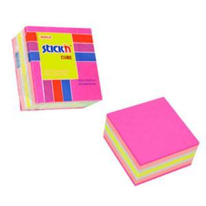 Karteczki samop. STICK'N 51x51 250k. - mix różo. - 2847297731